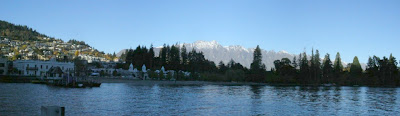 My New Zealand Vacation, Queenstown, The Remarkables, 2004Pano02a