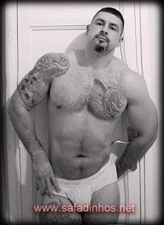Gay bear de cueca