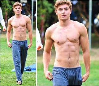 De olho na mala do Zac Efron