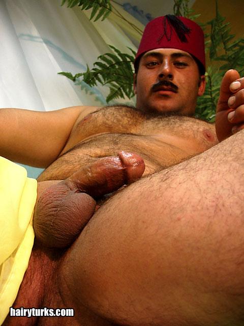 Naked Gay Arab Daddy Bear