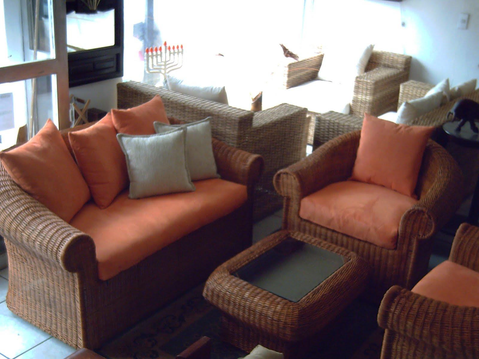Mimbres y muebles rusticos y finos muebles de mimbre - Sofas de mimbre ...