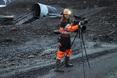 Janet Biggs: Artist/Miner