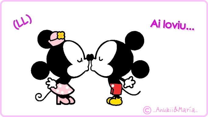 Mickey Minnie besandose - Imagui