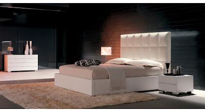 Minimalist White Bedroom Furniture Design, Bedrooms Interior Design - Interior Modern Bedroom