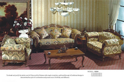 Living Room Furniture Europe Sofa A05