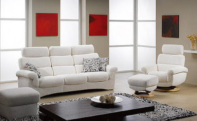 white modern furniture