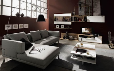 Living Room Designs and Ideas for 2010 by Hülsta l Living Room in Natural Color