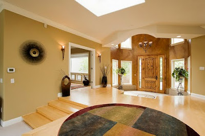 Luxury home design entrance