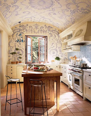 romantic kitchen