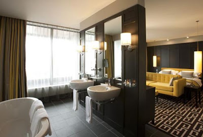 fitzwilliam hotel en suites bathroom design