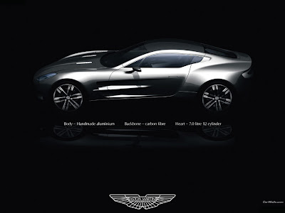 Here is some Exclucive wallpaper of Aston Martin ONE-77: