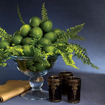 Lime Green Wedding Centerpieces