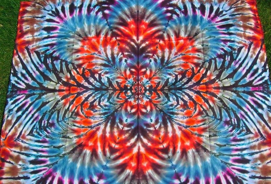 Making Art Tie Dye Designs Patterns Colors