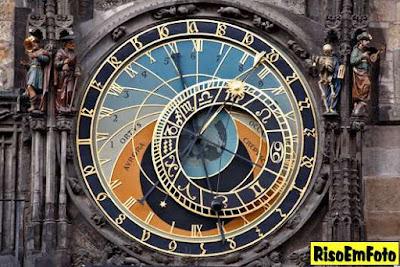 Relógio Astronômico de Praga, na República Tcheca