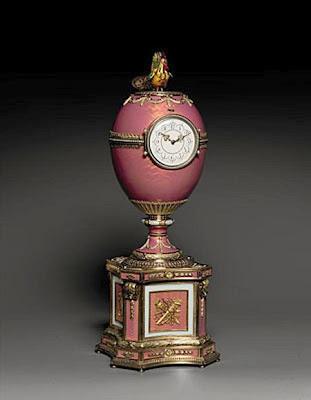 Ovo Fabergé (peça de joalheria) leiloado na Christie's por 12,5 milhões de Euros