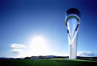 Aeroporto em Bilbao, Espanha