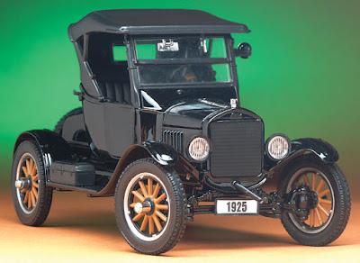 Ford Modelo T ano 1925 Restaurado