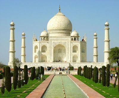 Taj Mahal - vista frontal
