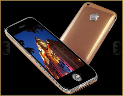 Iphone 3G em Ouro e Diamantes - O mais caro do mundo.