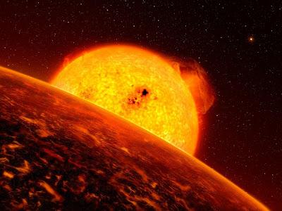 Estrela onde há planeta semelhante à Terra