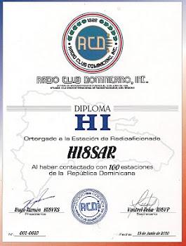 CERTIFICADO HI-100