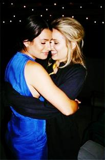 Love Lea Michele: Lea Michele y Dianna Agron:¿ Mas Que Amigas?