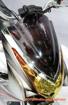 MODIFIKASI MOTOR YAMAHA MIO SOUL Chopper Style