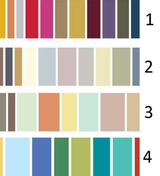 El cuaderno del decorador pinturas de colores para 2011 for Paleta colores pintura