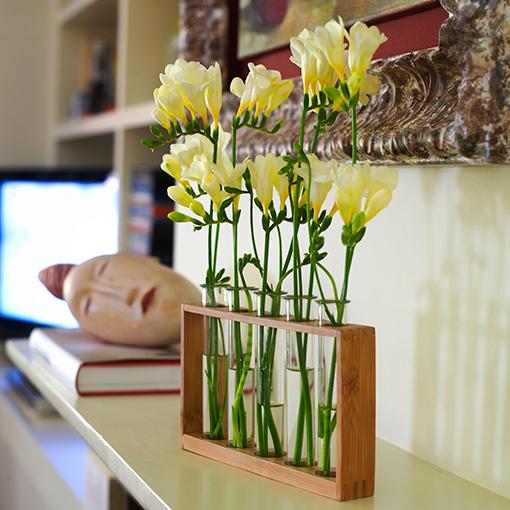 El cuaderno del decorador galer a de im genes - Decoracion de jarrones con flores artificiales ...