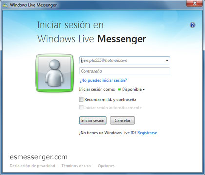 multimsn para windows live: