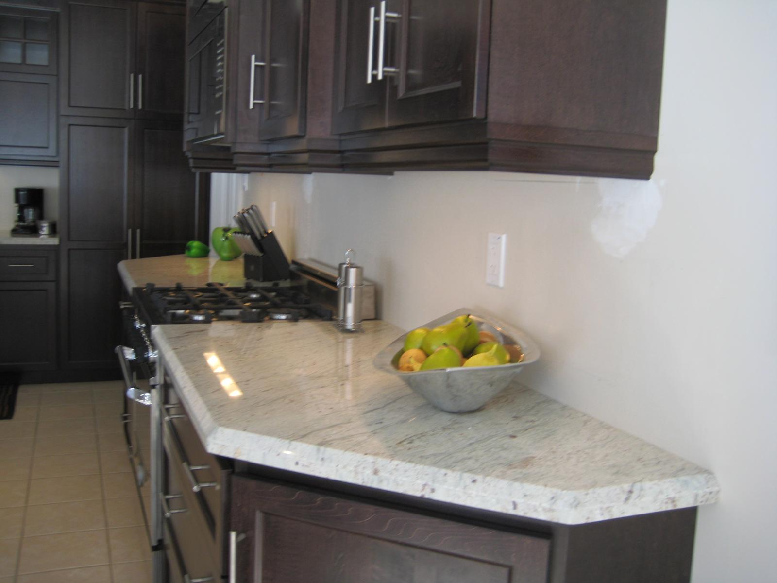 White Kitchen With Granite Granite Direct Testimonials River White Granite Countertop