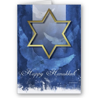 Hanukkah Friends Cards