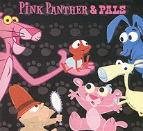 Then Of Course Over A Count Time The Chosen Characters Were Given New Redesign This Aging Pink Panther To Be Teenager Instead Kid