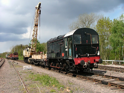 One of the works trains which we had for the week.