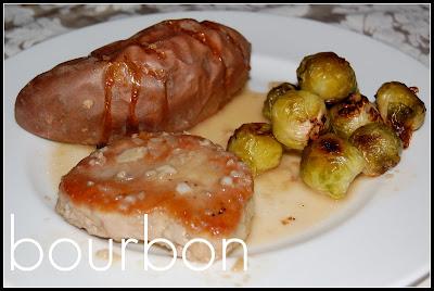 NJ Epicurean: Pan Roasted Pork Chops with Bourbon Sauce