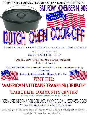 Dutch oven cook off recipes