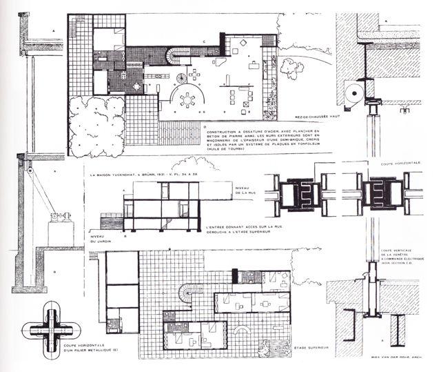 shftoptplus uts ludwig mies van der rohe tugendhat house. Black Bedroom Furniture Sets. Home Design Ideas