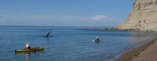 en kayak De Los Andes al Mar