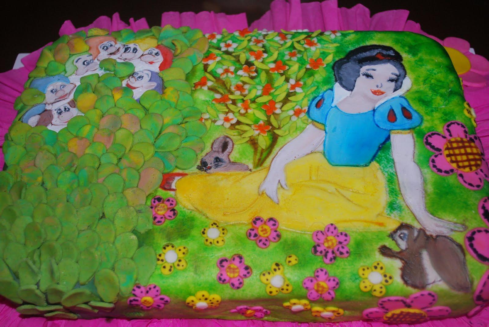 Blanca nieves bebé torta - Imagui