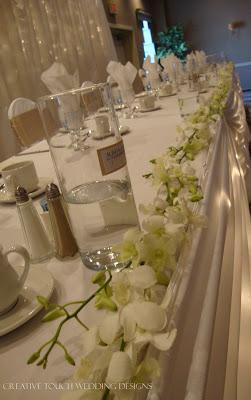 Creative Touch Wedding Designs Regina Inn White