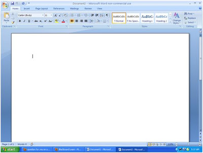 how to delete blank document in word