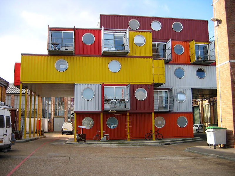 Southsiders container city - Container homes london ...