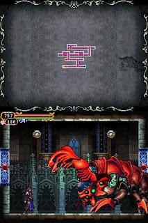 Castlevania: Order of Ecclesia, Shanoa, Map, Lobster Boss