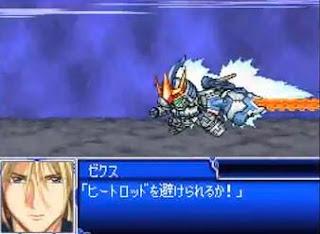 Super Robot Taisen L - Tallgeese III (Gundam W: Endless Waltz)