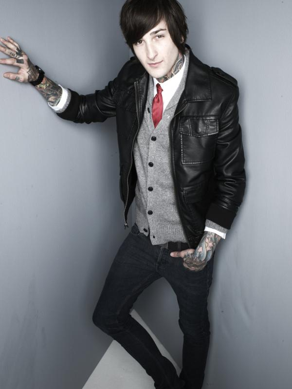 Mitch Lucker from Suicide Silence.
