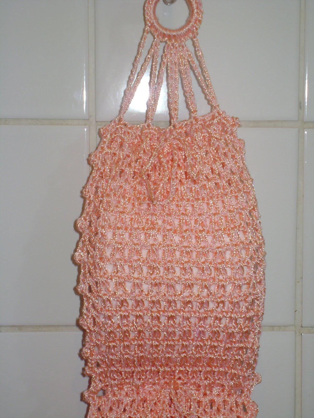 Artesanato Graça: Porta papel higiênico em croche