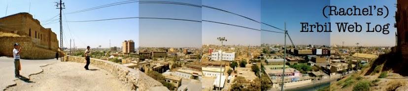 (Rachel's) Erbil Web Log