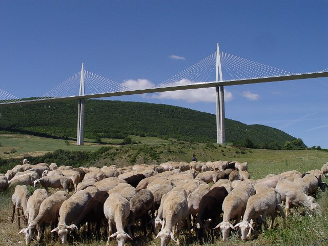 Viaduct de Millau photo