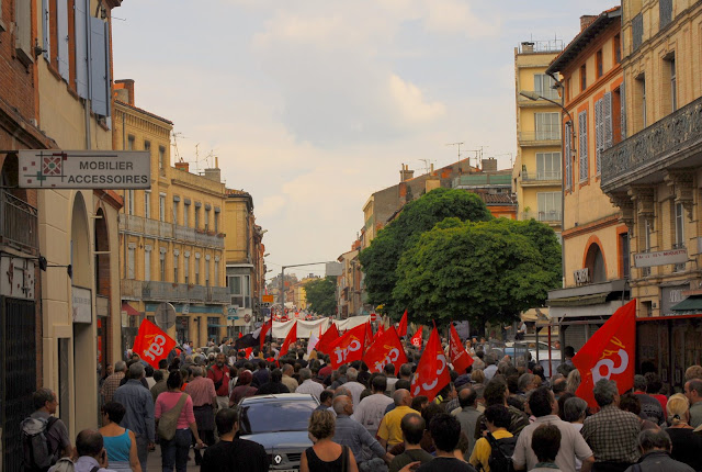 Toulouse greve generale