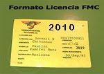 Formato para tramitar la licencia de la FMC